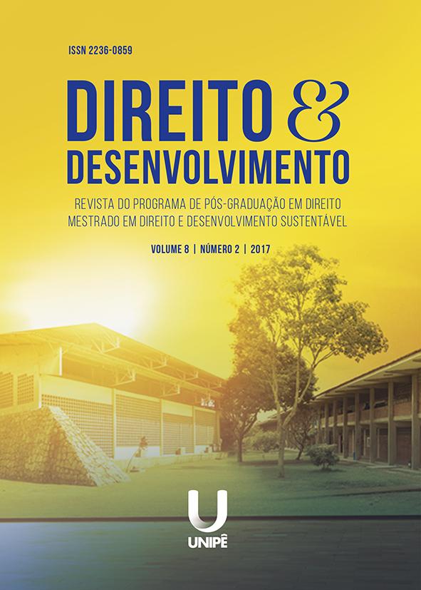 Capa Direito e Desenvolvimento
